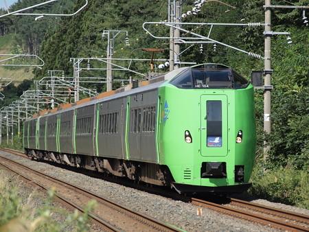 789系スーパー白鳥(旧東北本線(現青い森鉄道線)浅虫温泉~西平内)