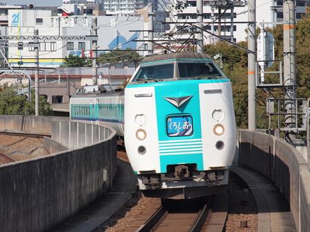 381系特急くろしお 今宮駅