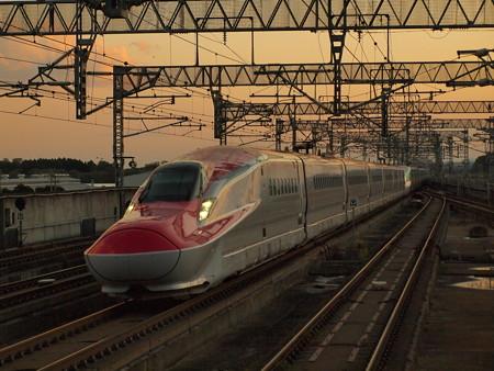 E6系・E5系 スーパーこまち・はやぶさ 東北新幹線北上通過