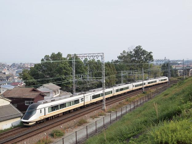 近鉄21020系名阪甲特急アーバンライナーnext後追い 近鉄大阪線関屋~二上俯瞰アングル