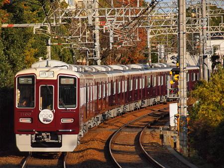 阪急1000系特急 後追い 阪急神戸線御影駅