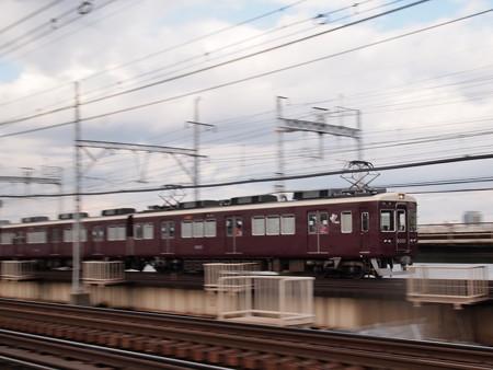 阪急6000系急行 流し 阪急宝塚線十三~中津