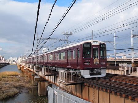 阪急1000系後追い 普通 阪急線十三~中津