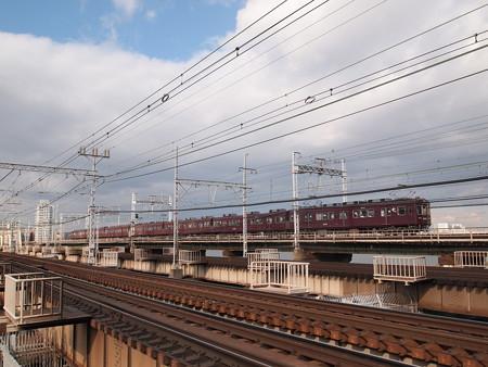 阪急2300系準急 阪急京都線十三~中津
