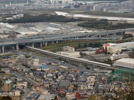 N700系のぞみ 東海道新幹線京都~新大阪7