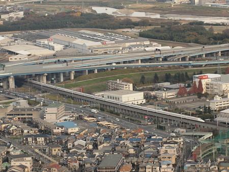 N700系のぞみ 東海道新幹線京都~新大阪6