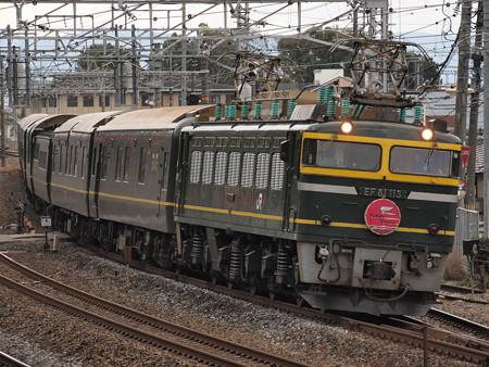 EF81 トワイライトエクスプレス 東海道本線山崎~島本