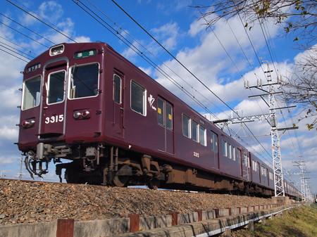 阪急3300系堺筋準急 阪急京都線高槻市~富田
