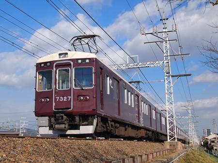 阪急7300系普通 阪急京都線高槻市~富田