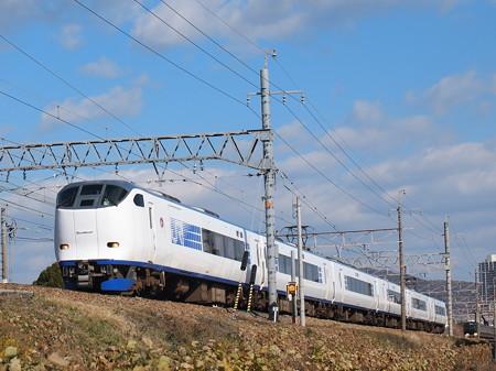 281系特急はるか 東海道本線高槻~摂津富田2