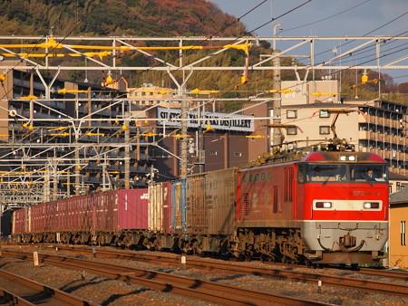 EF510 貨物 東海道本線山崎~島本