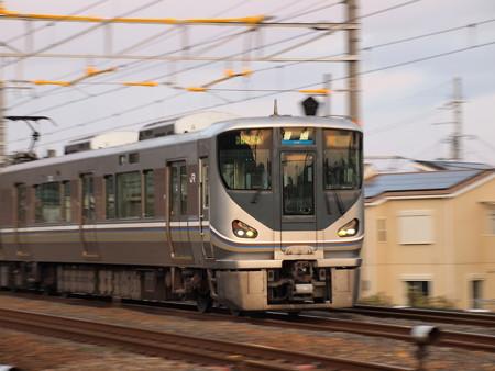 225系普通流し 東海道本線山崎~島本