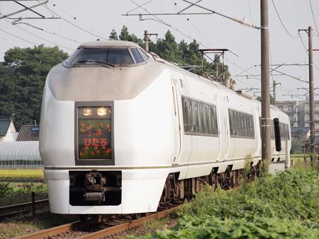 651系 特急スーパーひたち 東北本線南仙台~名取