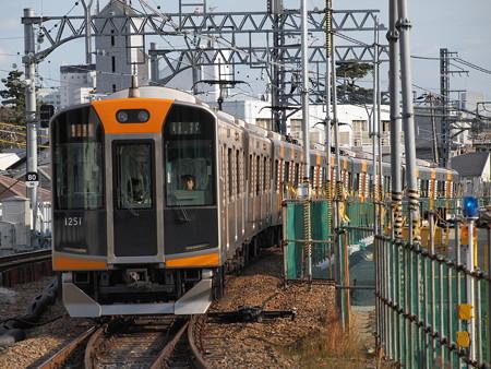 阪神1000系急行 阪神本線甲子園駅