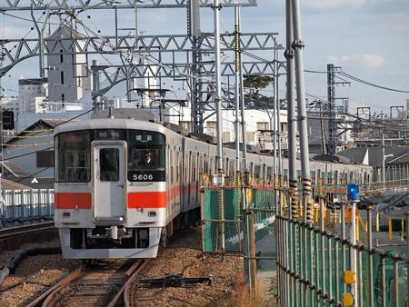 山陽5000系直通特急(赤色) 阪神本線甲子園駅