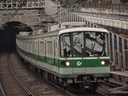 神戸市営地下鉄3000形 伊川谷駅