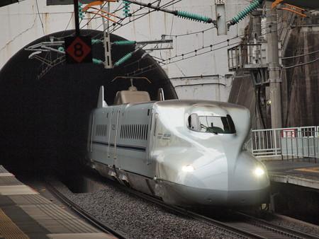 N700系回送 山陽新幹線新神戸駅