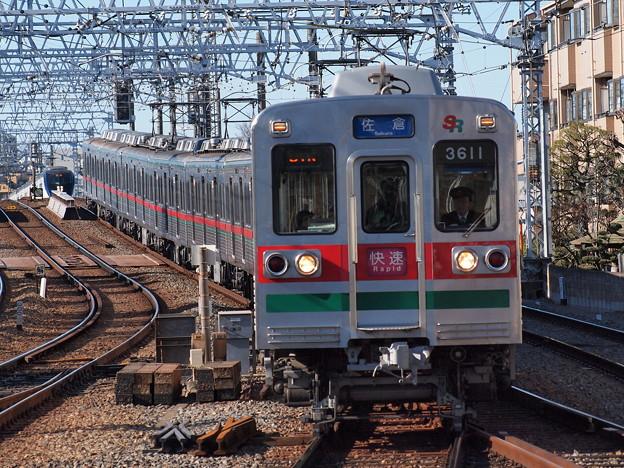 京成3600形快速 京成高砂駅