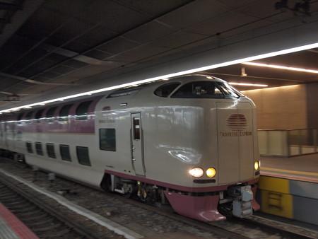 285系 サンライズエクスプレス 大阪駅到着流し