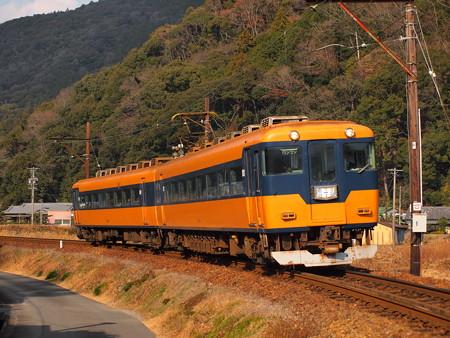 大井川鉄道16000系大井川鉄道線大和田~福用インカーブ