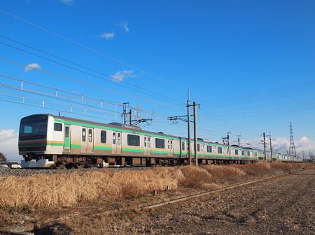 E231系普通 東北本線岡本~宝積寺2