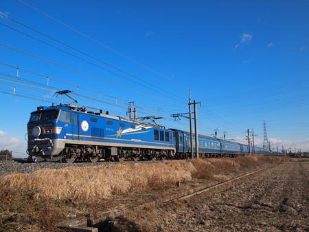 EF510 寝台特急北斗星 東北本線岡本~宝積寺