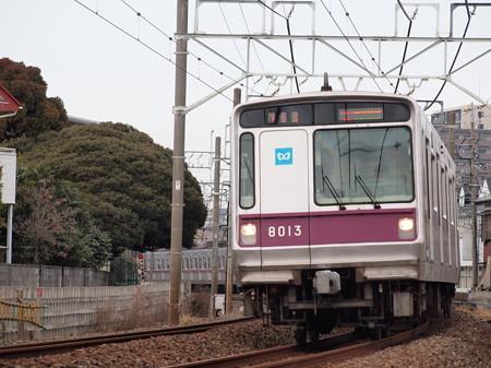 メトロ8000系急行 東武スカイツリーライン春日部~一ノ割