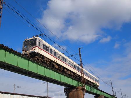 富山地鉄14760系旧塗装 普通 富山地方本線西魚津~越中中村