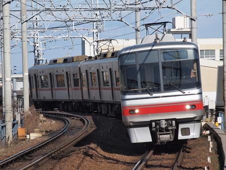 名鉄5000系急行 名鉄名古屋本線東枇杷島駅