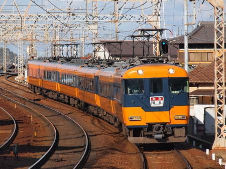 近鉄12200系名伊乙特急 近鉄名古屋線近鉄富田駅