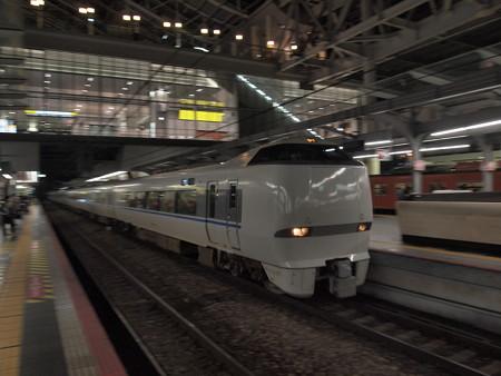 683系特急サンダーバード流し 東海道本線大阪駅