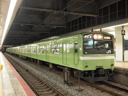 201系普通 大阪環状線天王寺駅