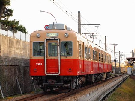阪神7801形 阪神武庫川線洲崎~東鳴尾