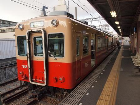 阪神7801形 阪神武庫川線武庫川駅