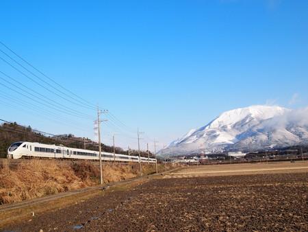 683系特急しらさぎ 東海道本線近江長岡~柏原