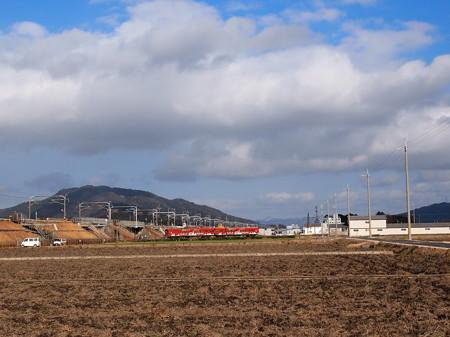 近江鉄道800系フジテックラッピング 普通 八日市線近江八幡~武左