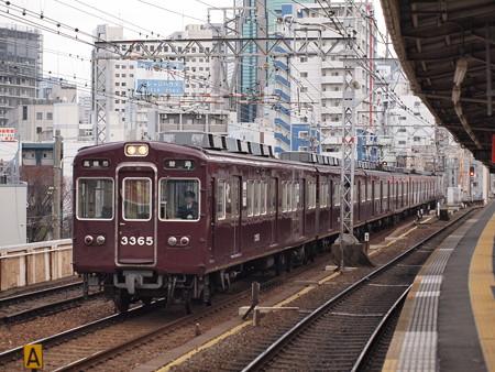 阪急3300系普通 阪急京都線中津駅