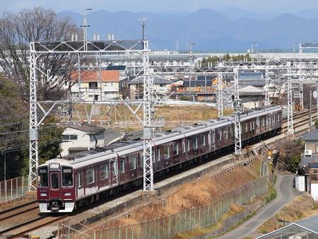 阪急9300系特急 阪急京都線西山天王山~大山崎