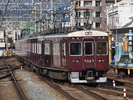 阪急7300系準急 阪急京都線桂駅