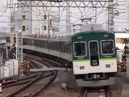 京阪1000系普通 京阪本線八幡市駅