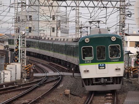 京阪2200系準急 京阪本線八幡市駅