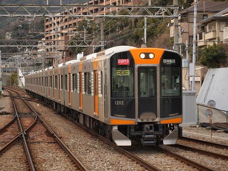 阪神1000系直通特急 山陽須磨駅