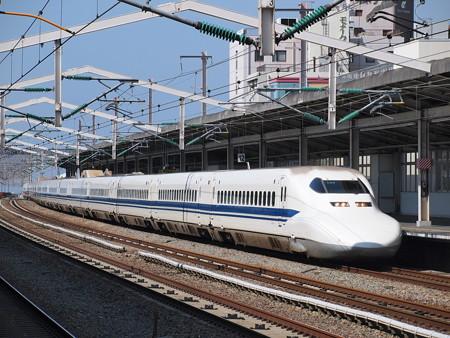 700系ひかり 山陽新幹線西明石駅