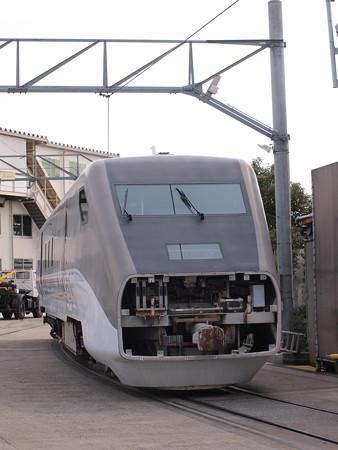 フリーゲージトレイン1次車 川崎重工兵庫工場