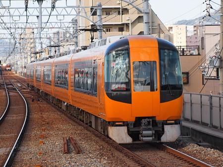 近鉄22600系団臨 阪神本線石屋川駅