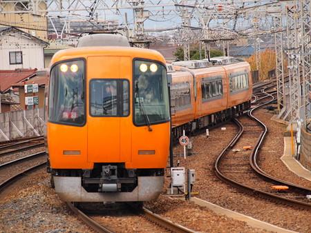 近鉄22000系阪伊乙特急 近鉄大阪線大和八木駅