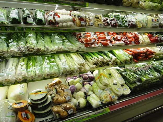 匯金百貨店 野菜売り場