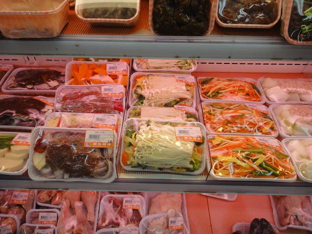 スーパー カット野菜