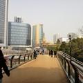 Photos: 歩道橋から静安寺