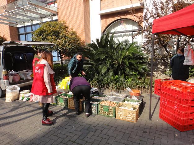 Photos: 延平路 路上の玉子売り